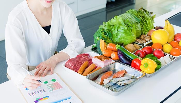 「栄養管理のプロ」だから提案できる。「あなた専用」だから続けられる。あなたの生活スタイルに合わせたお食事プランの提案