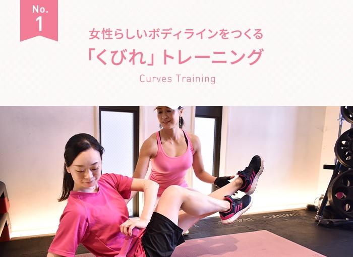 「くびれ」トレーニング
